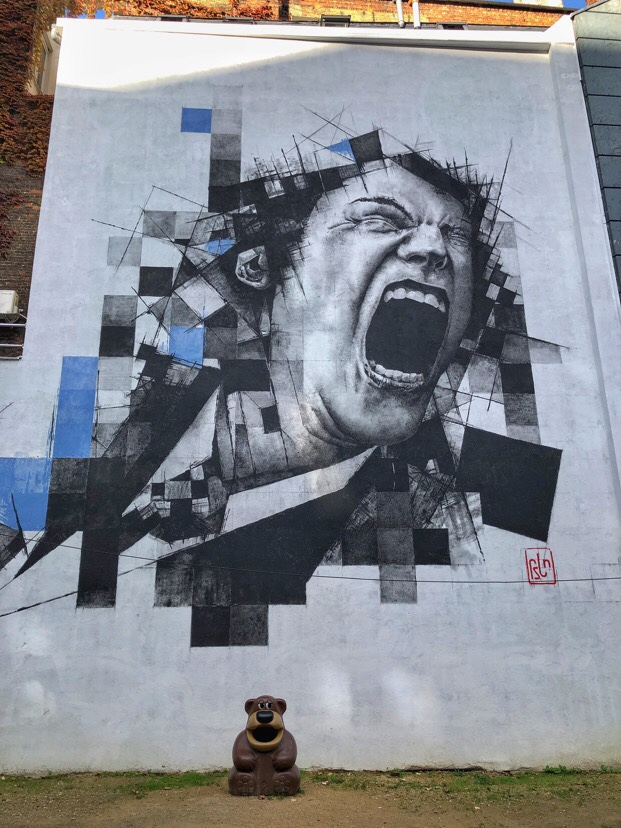 Street art from across Brussels, Belgium
