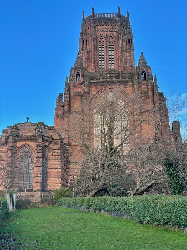 The Anglican Cathedral in Liverpool