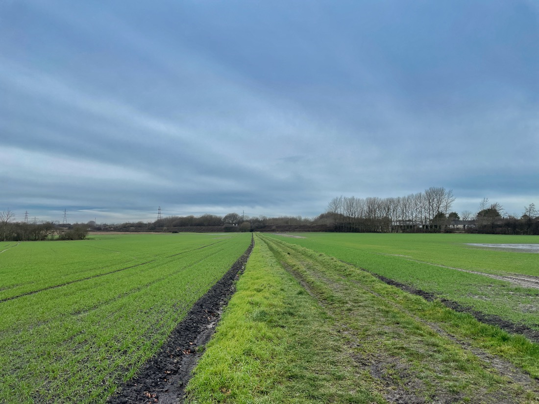 A quiet Sunday morning walk across the fields and along the canal path in Maghull, Merseyside.