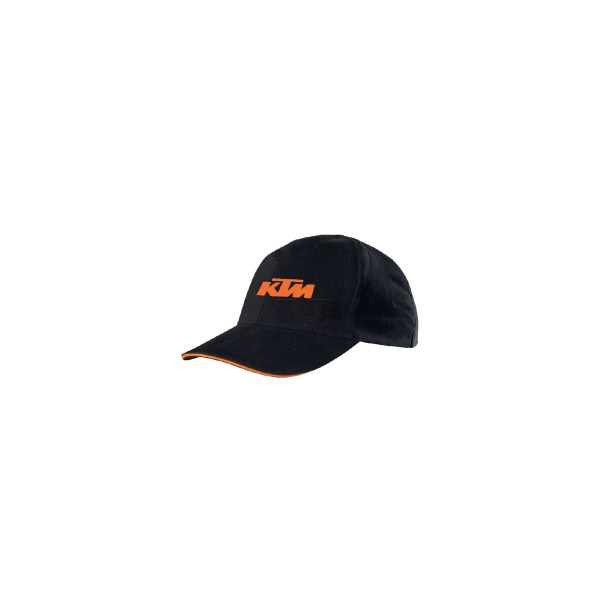 CHAPEU KTM TEAM RACING PRETO