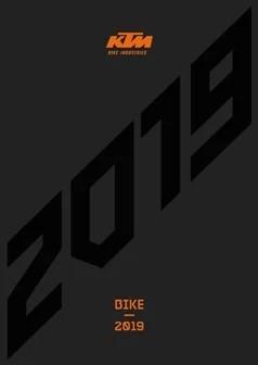 catálogo KTM 2019