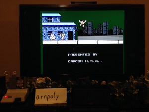Mega Man Ending Screen