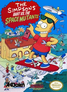 The Simpsons: Bart vs. the Space Mutants Box Cover
