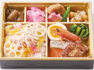 四季彩弁当(かざりちらし) 1200円+税