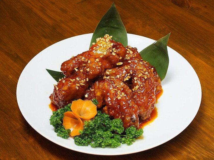 韓国料理 ハンスのヤンニョムチキン