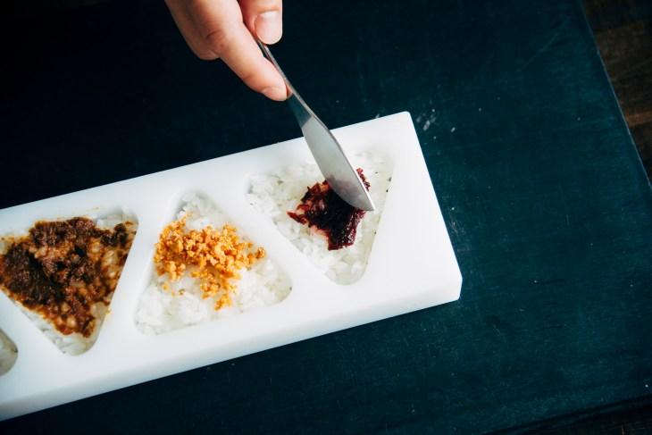 AKOMEYA弁当の料理
