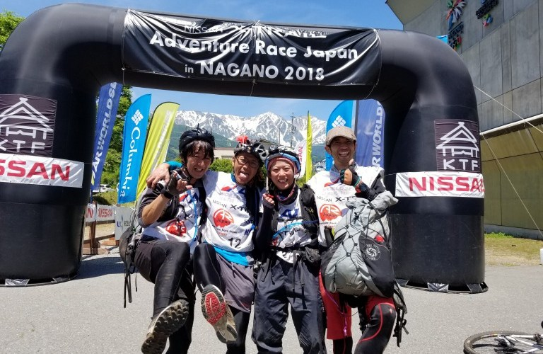 NISSAN X-TRAIL Adventure Race Japan in NAGANO 総合3位