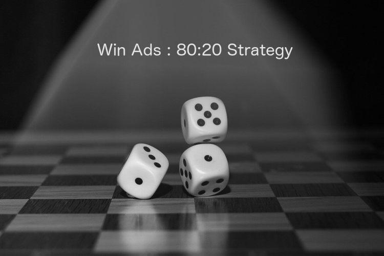 広告を成功させる80:20の法則|【起業するには,起業失敗,学ぶ】
