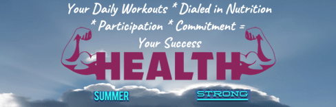 Image of Summer Strong campaign
