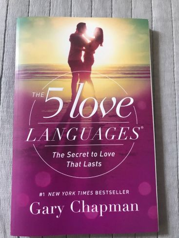 The 5 Love Languages Book Relationship Gift