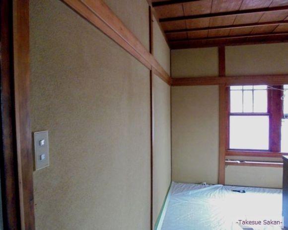 神戸 和室壁 ビフォー