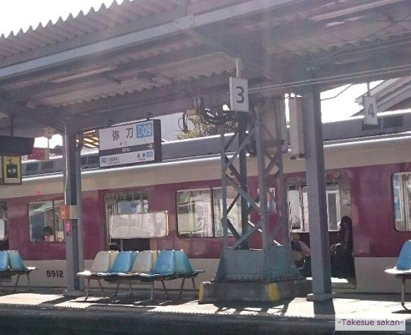 東大阪市 弥刀駅