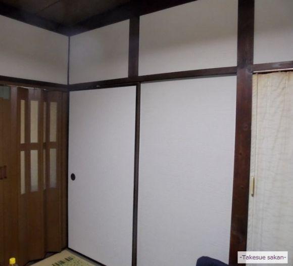 けいそうモダンコートシルキーで塗り替えた和室