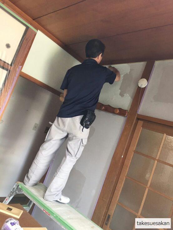 和室塗り替え12