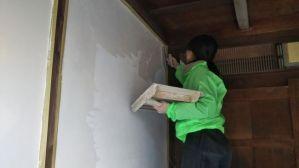 外壁漆喰リフォーム