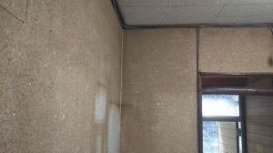 綿壁の部屋