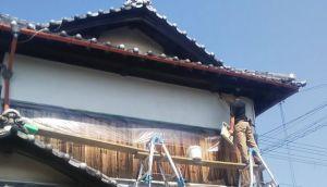 外壁漆喰塗り替え