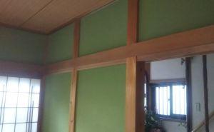 塗り壁の砂王