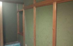 和室の塗り壁