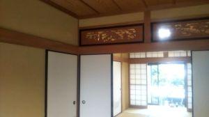 床の間の和室壁