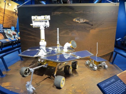 Mars Rover Opportunity and Pathfinder