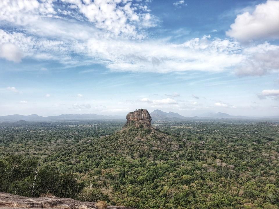 Sigiriya Rock, Sigiriya, Sri Lanka, Lions Rock