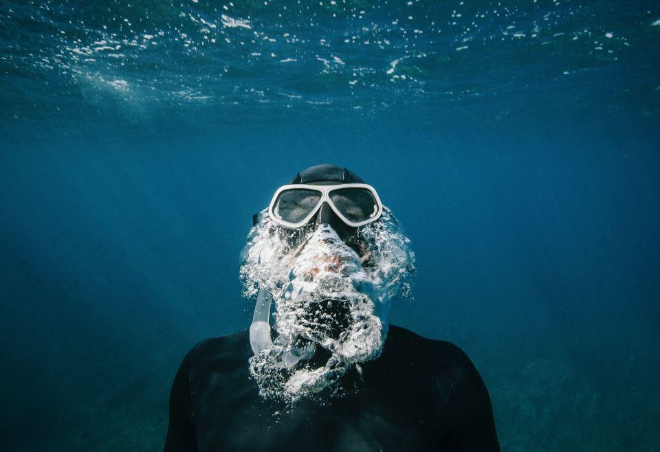 snorkelling Gili Trawangan