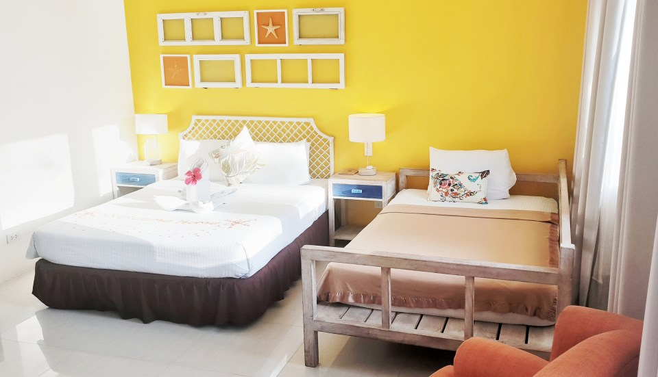 Momo Beach House, Bohol, Philippines, Room