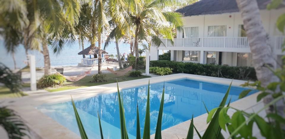 Mom Beach House Pool, Bohol, Philippines