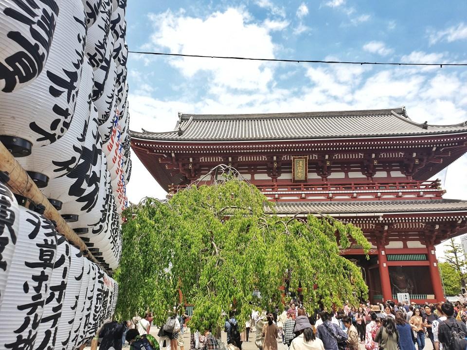 Sensoji Temple, Tokyo, Japan