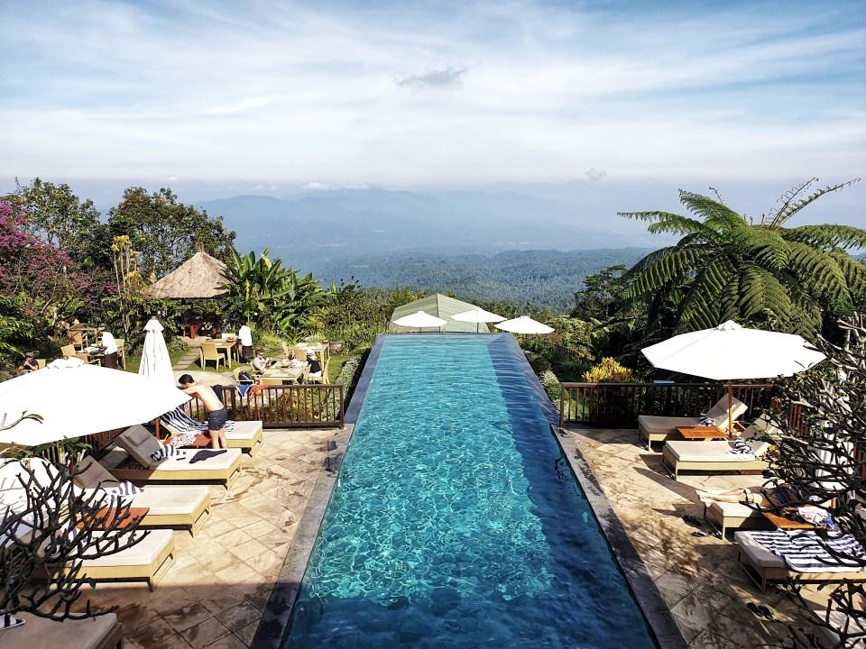 Infinity Pool, Munduk Moding Plantation, Munduk, Bali, Indonesia