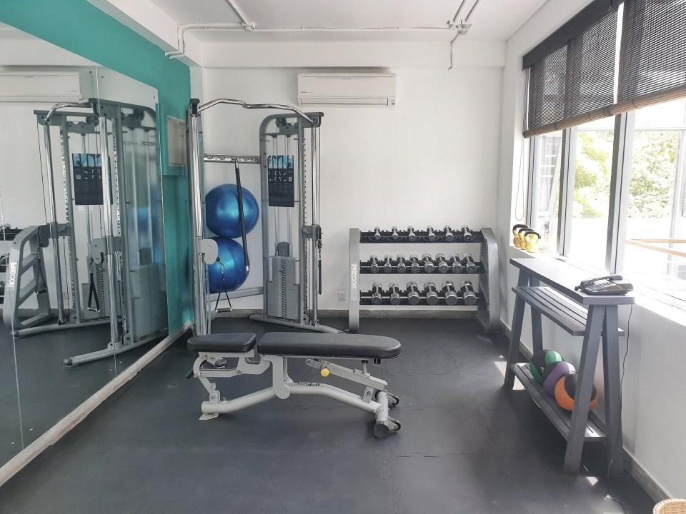 gym, The Owl & pussycat hotel, Unawatuna, Sri Lanka