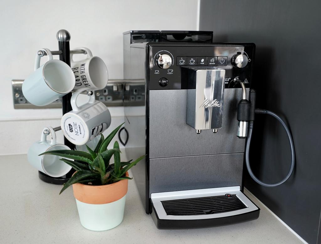 MELITTA AVANZA SERIES 600 FULLY AUTOMATIC COFFEE MACHINE