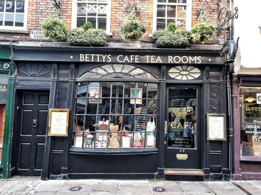 Betty's Cafe, York, Yorkshire, England, UK
