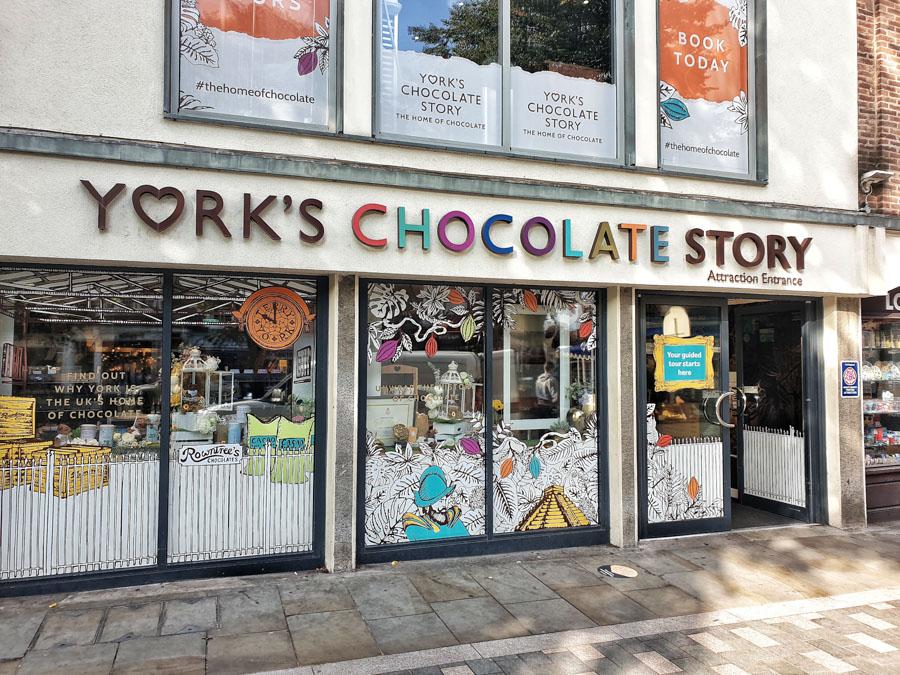 Yorks Chocolate Story, York, Yorkshire, England, UK