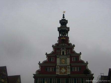 Clădirea fostei primării din Esslingen (Alte Rathaus), turnul cu ceas