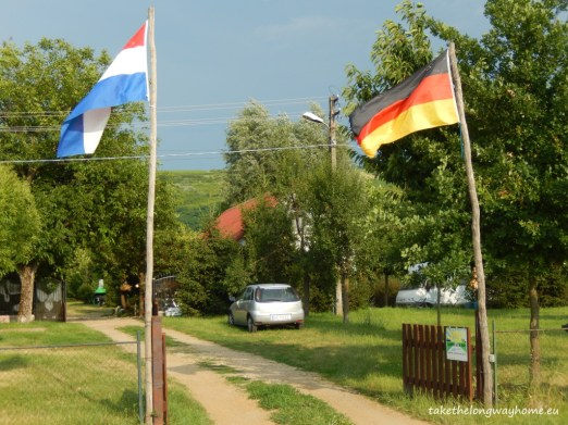 intrare camping