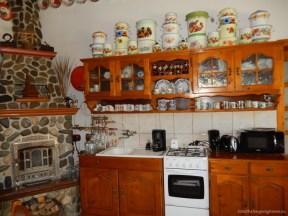 Bucătărie dotată pusă la dispoziția turiștilor