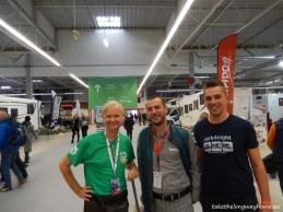 Am avut plăcerea să îi întâlnim pe Alan Heath ( motorhomefulltime.com) si pe Frederic Delamare (co-fondator park4night).