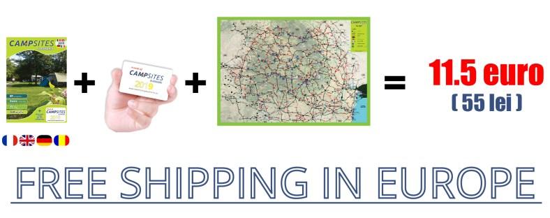 Free shiping - Campsites in Romania