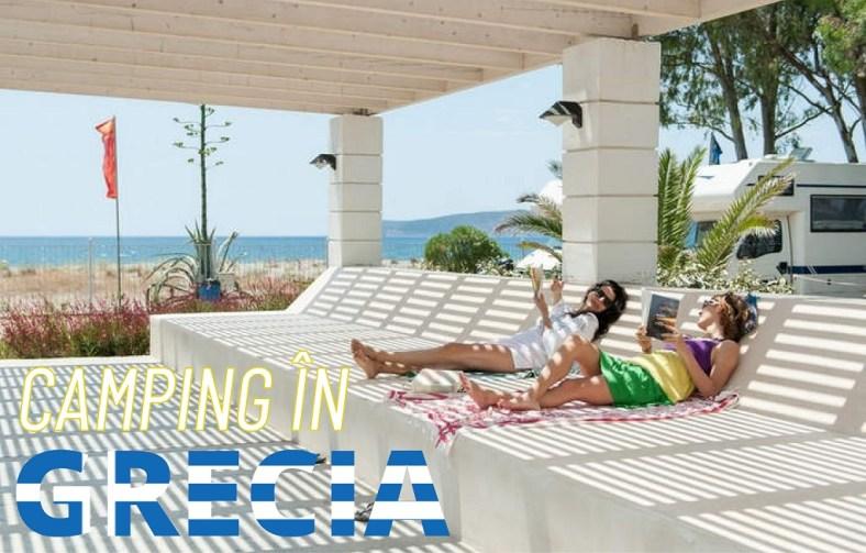 Camping in Grecia