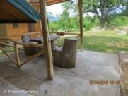loc pentru luat masa, la cabane
