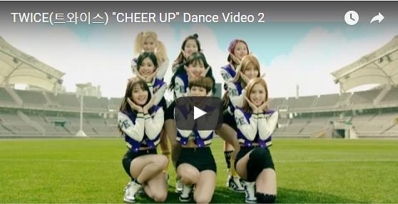 ちょっと違う振付 TWICE CHEER UP Dance2公開