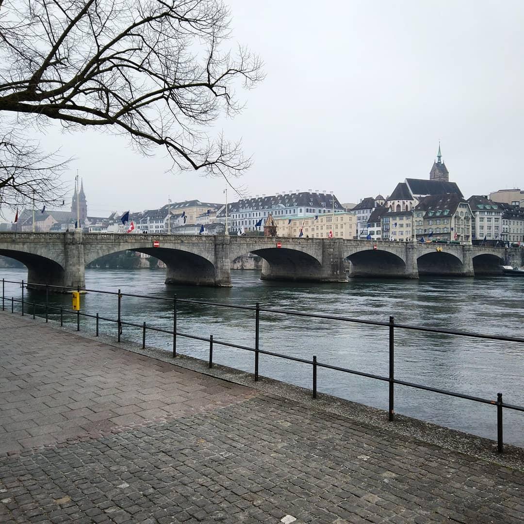 Most Środkowy - Bazylea, Szwajcaria
