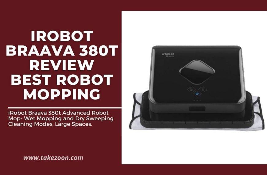 iRobot Braava 380t Review || Best Robot Mopping
