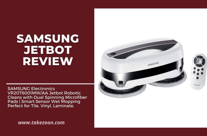 Samsung Jetbot Review || Robotic Hardwood Cleans