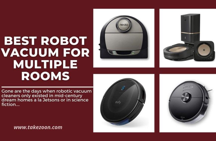 Top 5 || Best Robot Vacuum for Multiple Rooms