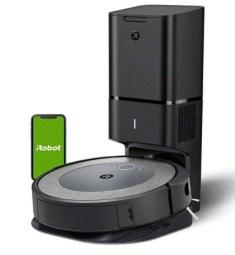 iRobot roomba i3+ robot vacuum with automatic dirt disposal