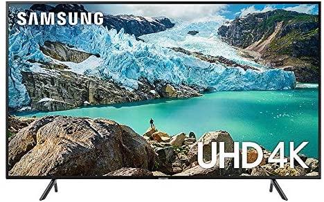 سامسونج - تلفزيون 50 بوصة , دقة عالية 4K, شاشة مسطحه, تصميم نحيف UA50RU7105RXUM