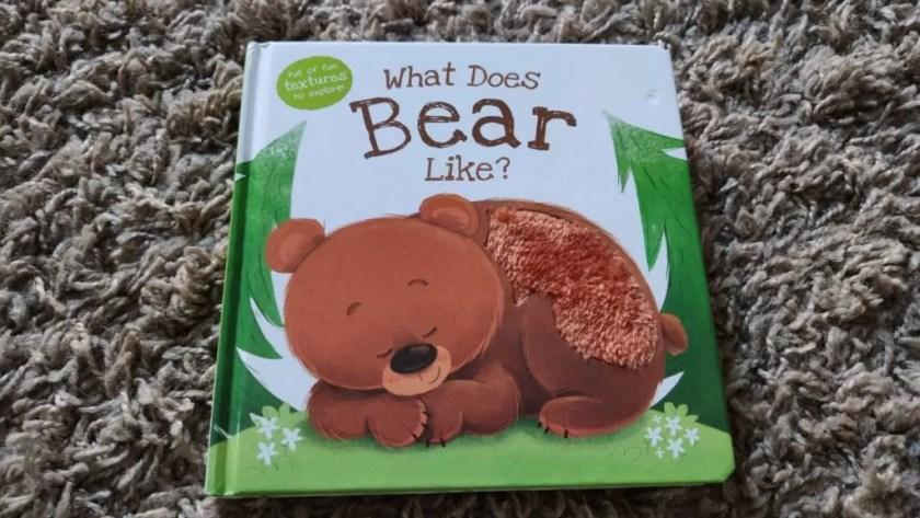 Książeczka dla dzieci po angielsku - What does bear like?